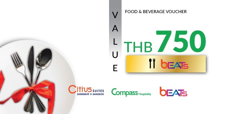 Pay 499 THB & Get 750 THB Value Voucher at Beats