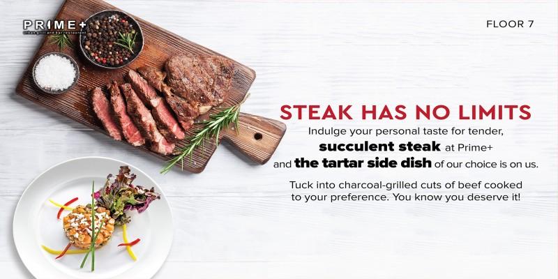 Steak's has no limit