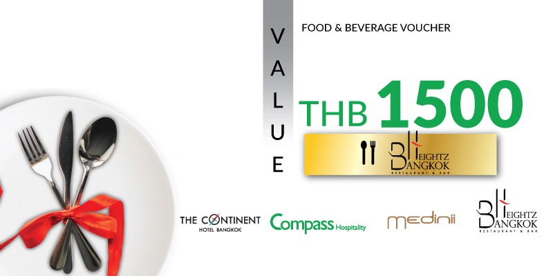 Pay 1,000 THB & Get 1,500 THB Value Voucher at Bangkok Heightz