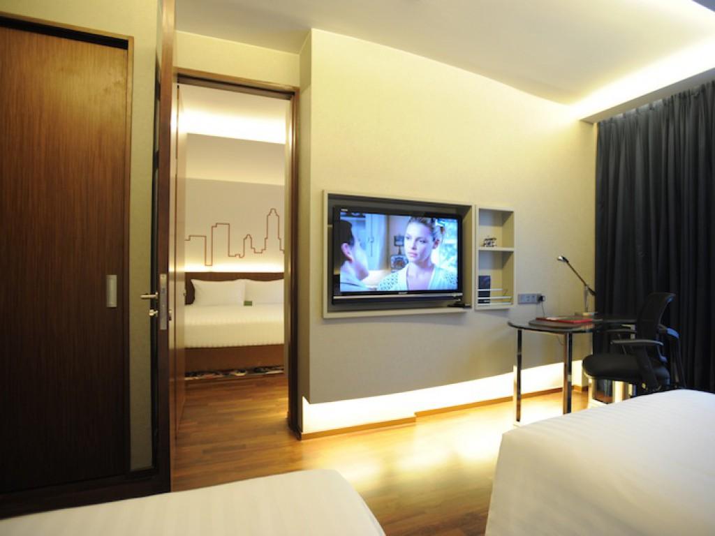 Connecting Rooms Davanzati Hotel: Galleria 10 Hotel Bangkok