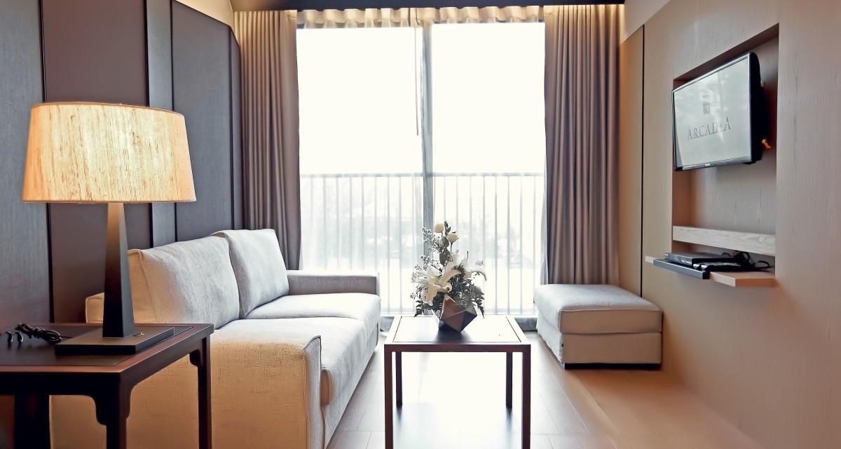 奔集 Hotel: 康帕斯曼谷阿卡迪亚套房公寓式酒店 (Arcadia Suites Phloenchit Sukhumvit Bangkok Hotel)