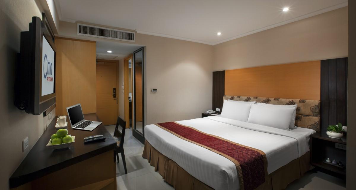 康帕斯曼谷思庭水門酒店Citin Pratunam Hotel Bangkok, 曼谷, 泰国