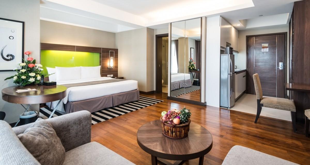 방콕, 태국 Hotel: 레거시 스위트 호텔  (Legacy Suites Hotel)
