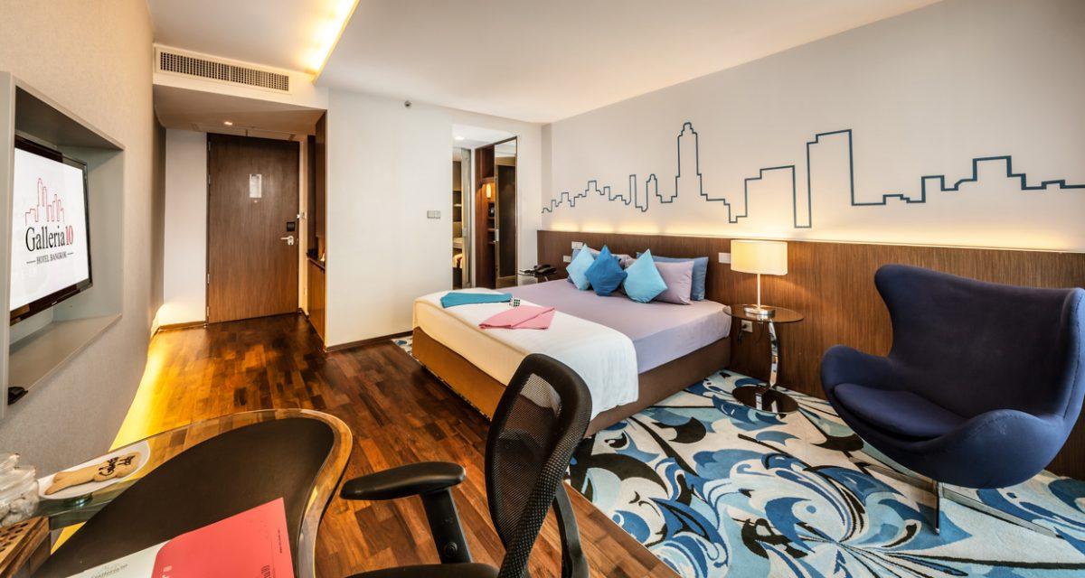 สวนเบญจกิติ, ไทย Hotel: แกลเลอเรีย (10 Galleria 10 Hotel Bangkok)