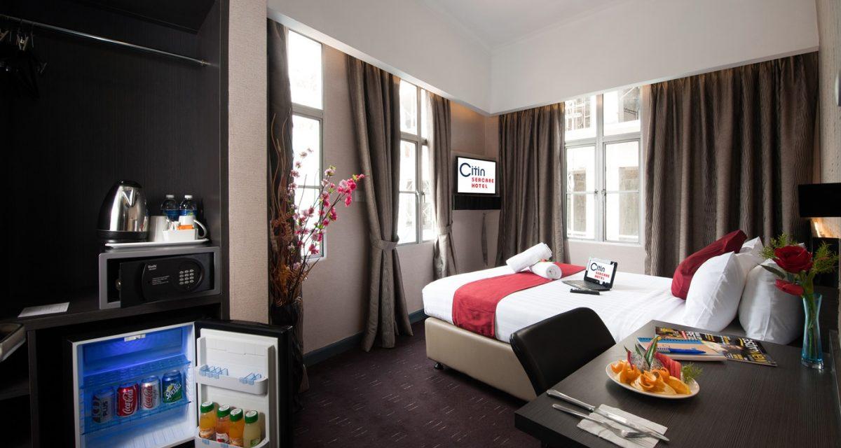 吉隆玻, 马来西亚 Hotel: 康帕斯思庭海佳酒店Citin Seacare Pudu Hotel