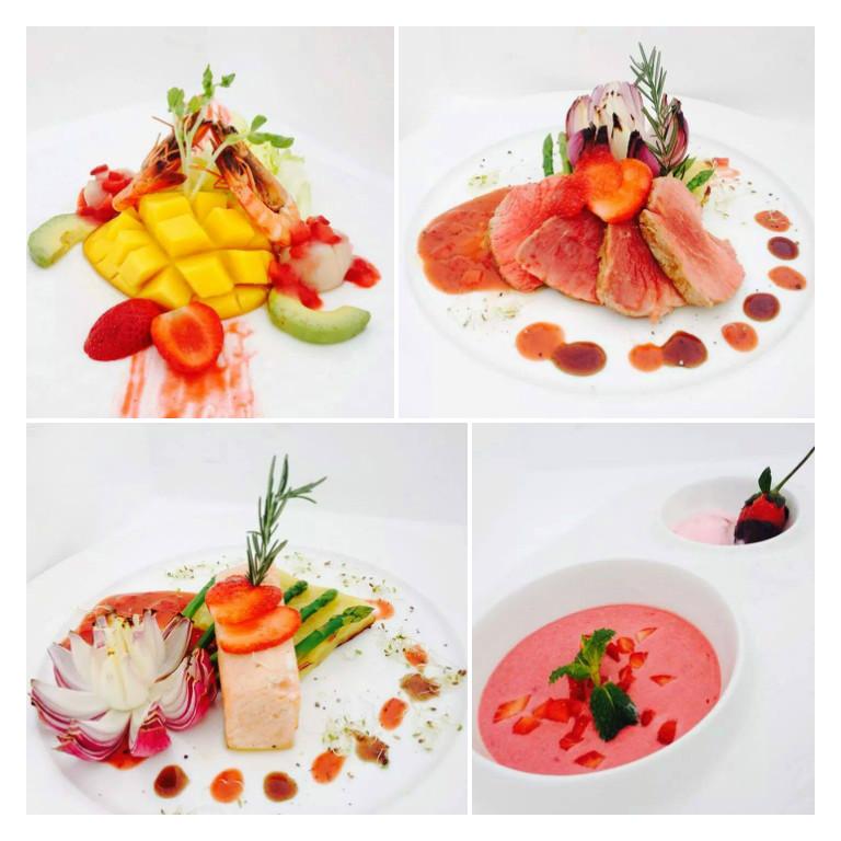 Valentine's Day set dinner at the Leapfrog Bar & Grill of the Galleria Ten Hotel Bangkok in Sukhumvit Soi 10