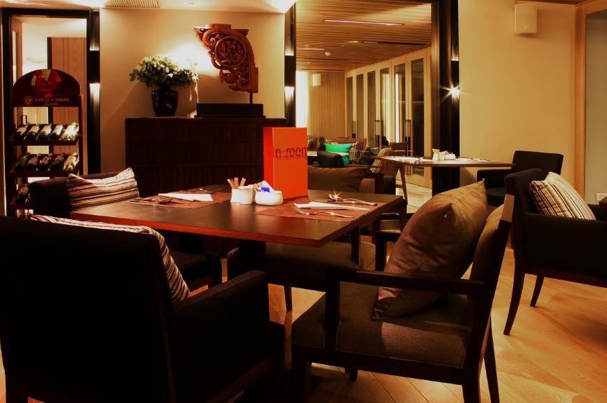 The Bodega Restaurant on the second floor of the Arcadia Suites in Soi Nai Lert near the Ploenchit BTS station