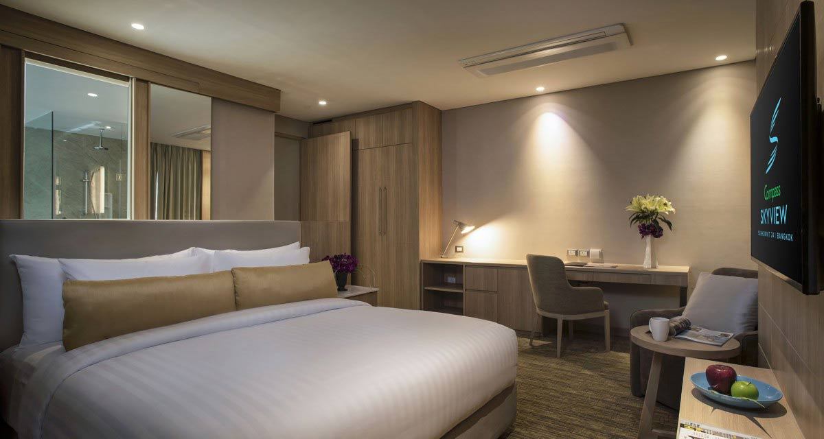Bangkok Hotel: Le Compass Skyview Hotel (Compass SkyView Hotel)