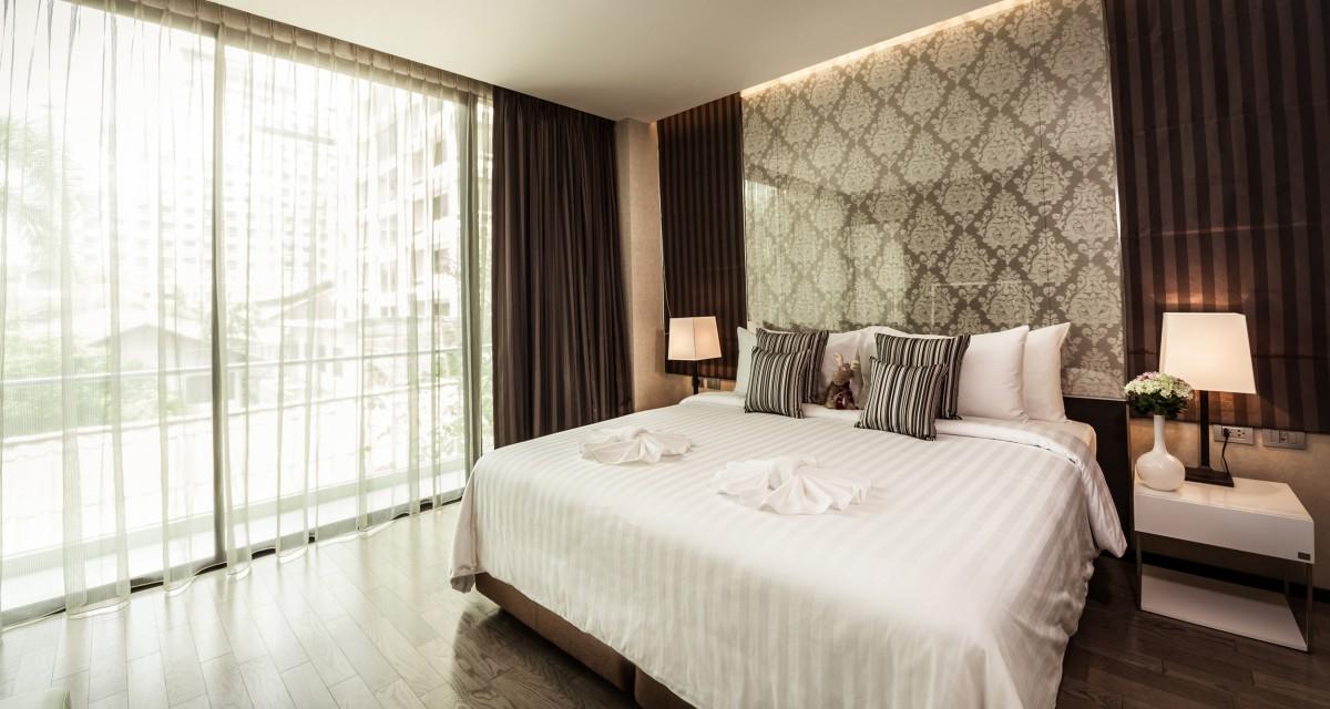 奔集, 泰国 Hotel: 康帕斯曼谷阿卡迪亞住宿 (Arcadia Residences)