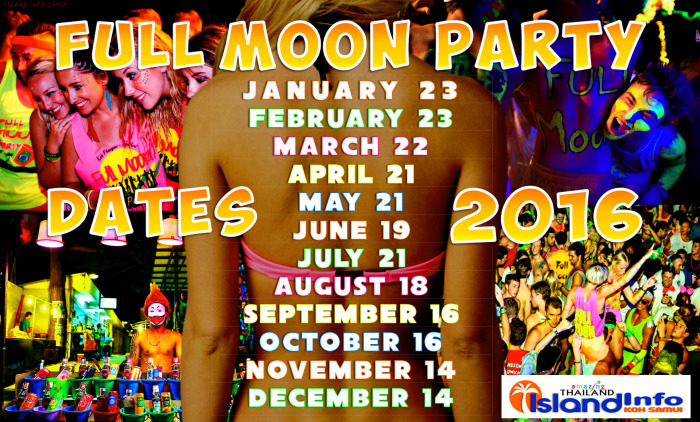 Full moon party dates_2016