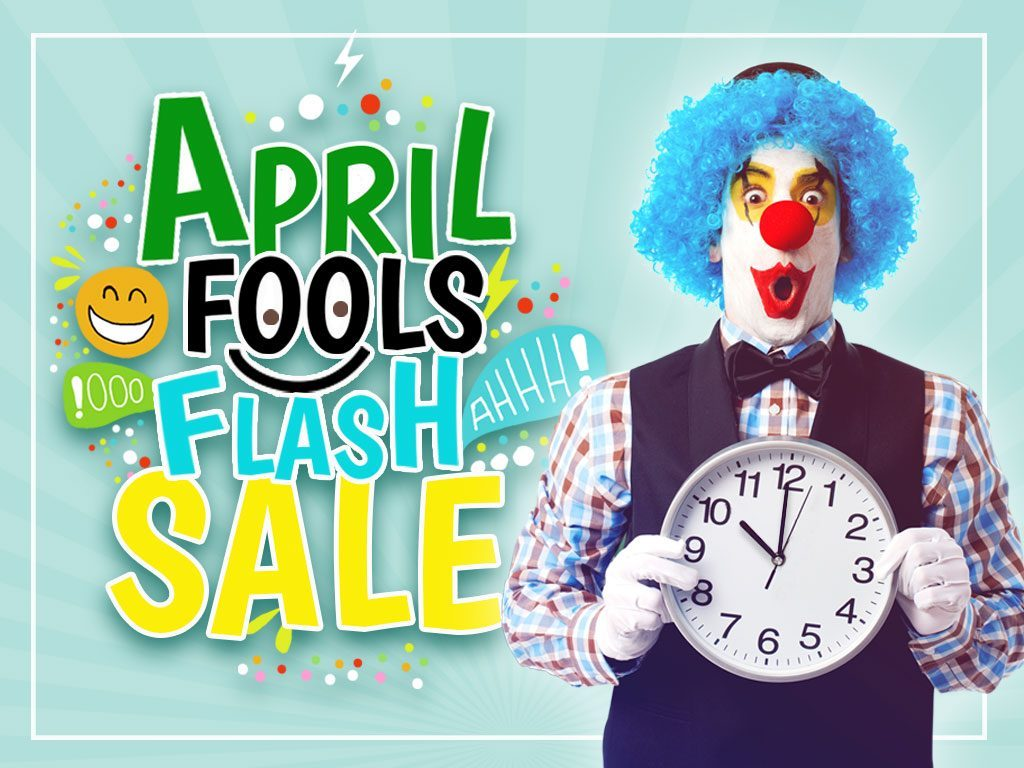 Hotel Deal: April Fools Flash Sale