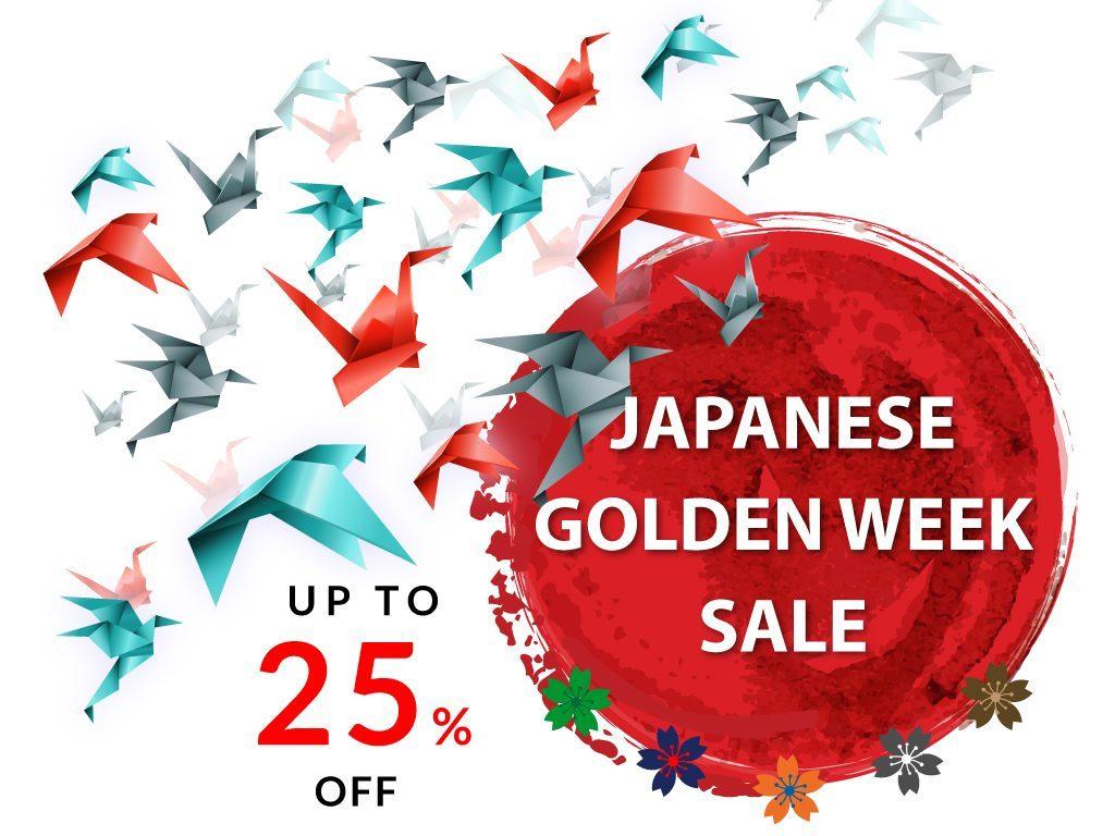 Hotel Deal: Japanese Golden Week Sale