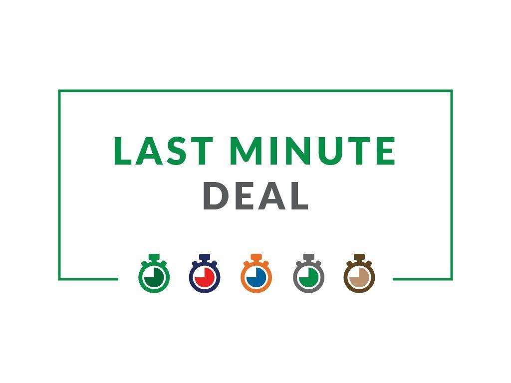 Hotel Deal: โปรนาทีสุดท้าย