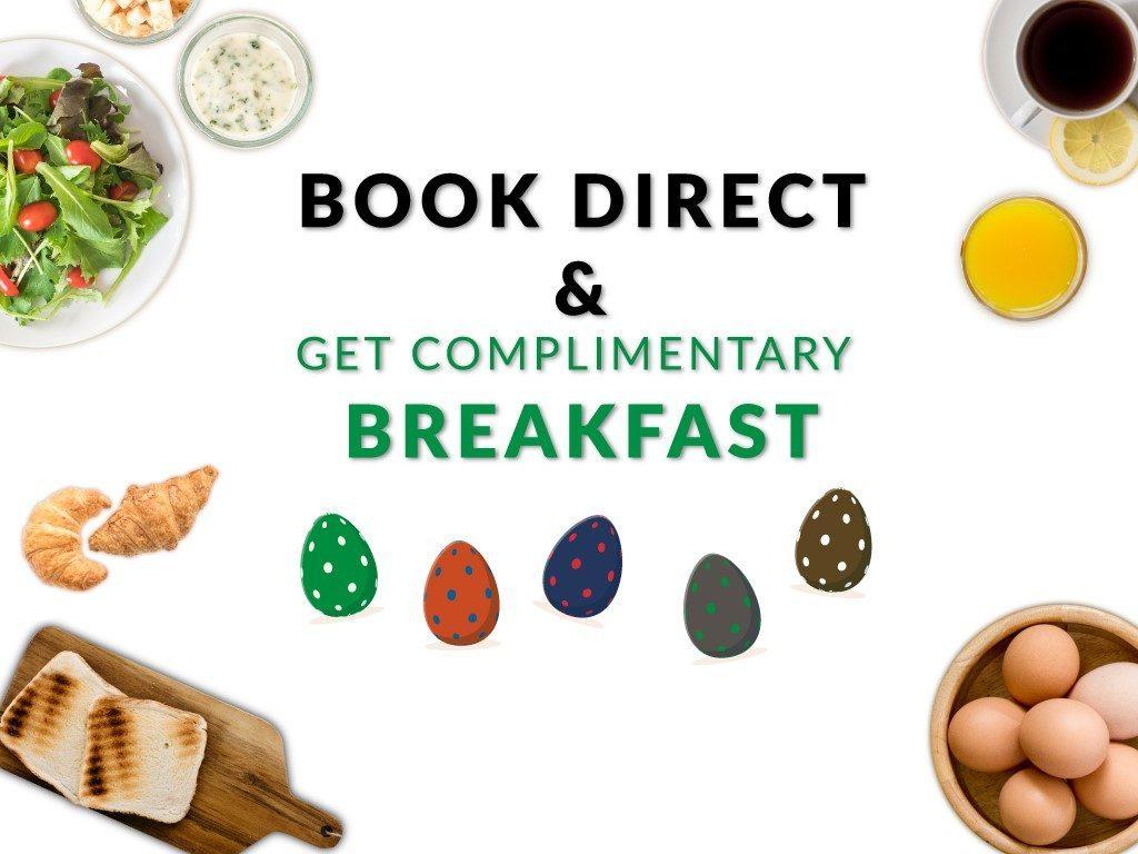 Hotel Deal: โปรโมชั่นอาหารเช้าฟรี