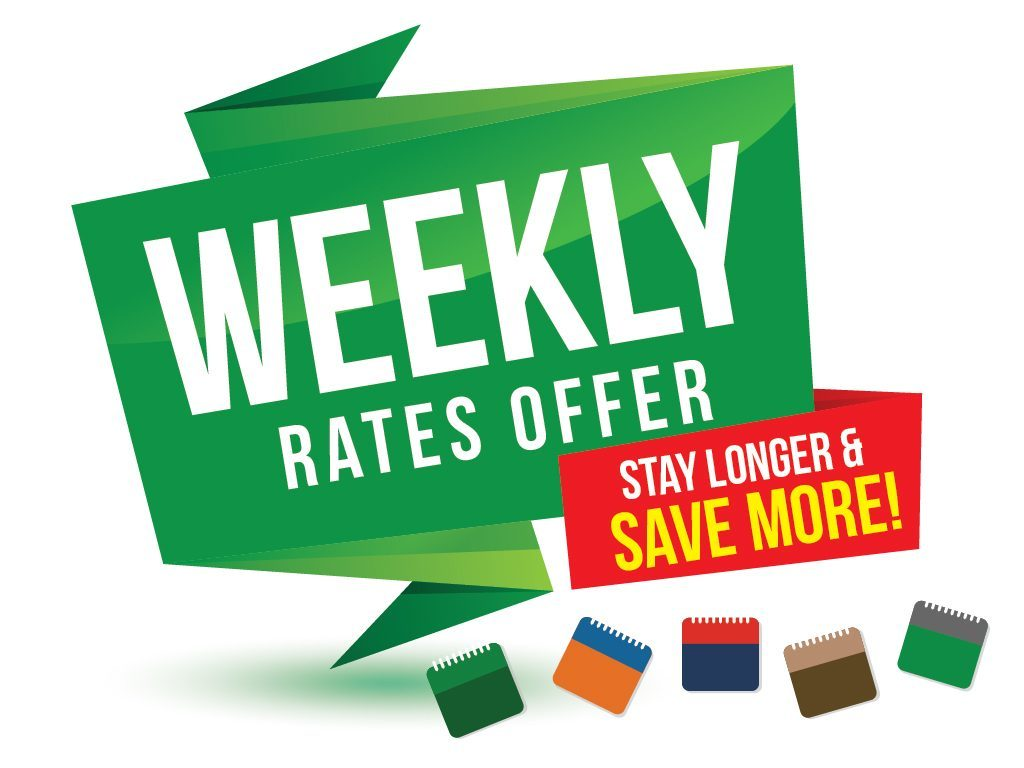 Hotel Deal: Weekly Rates Offer