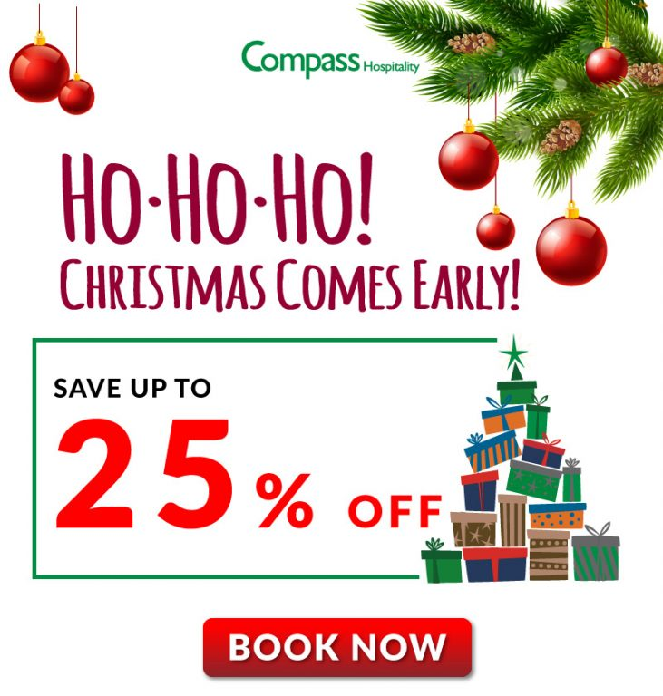 Hotel Deal: Early Christmas Saver