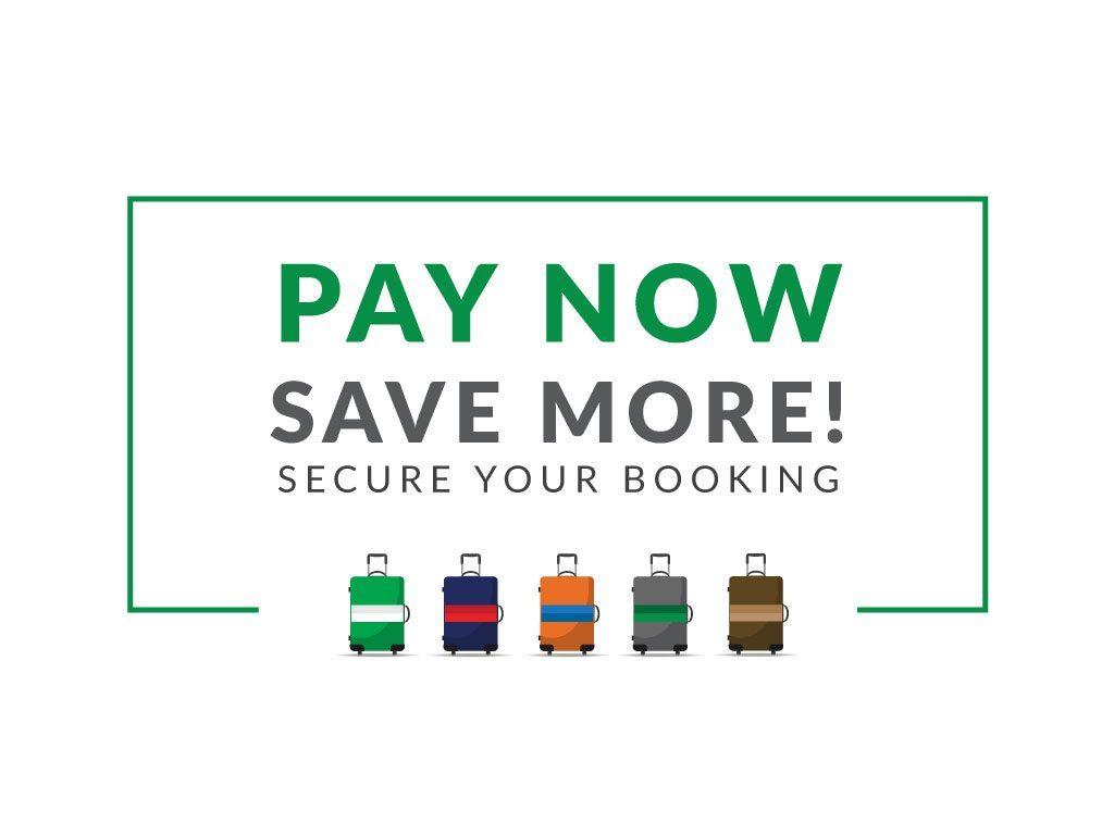 Hotel Deal: 立即付款,節省更多