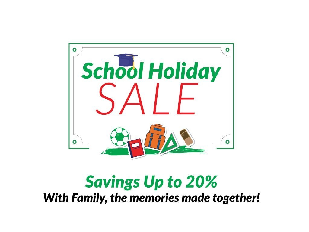 Hotel Deal: School Holiday Sale