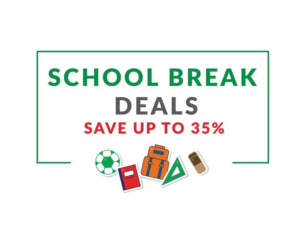Hotel Deal: School Break Deals