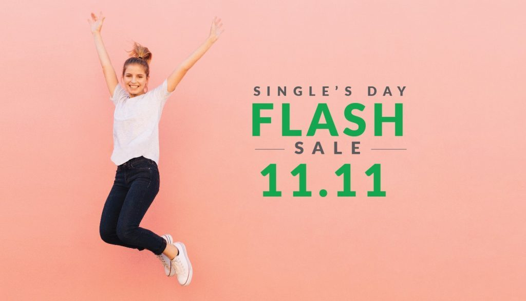 Hotel Deal: SINGLE'S DAY FLASH SALES