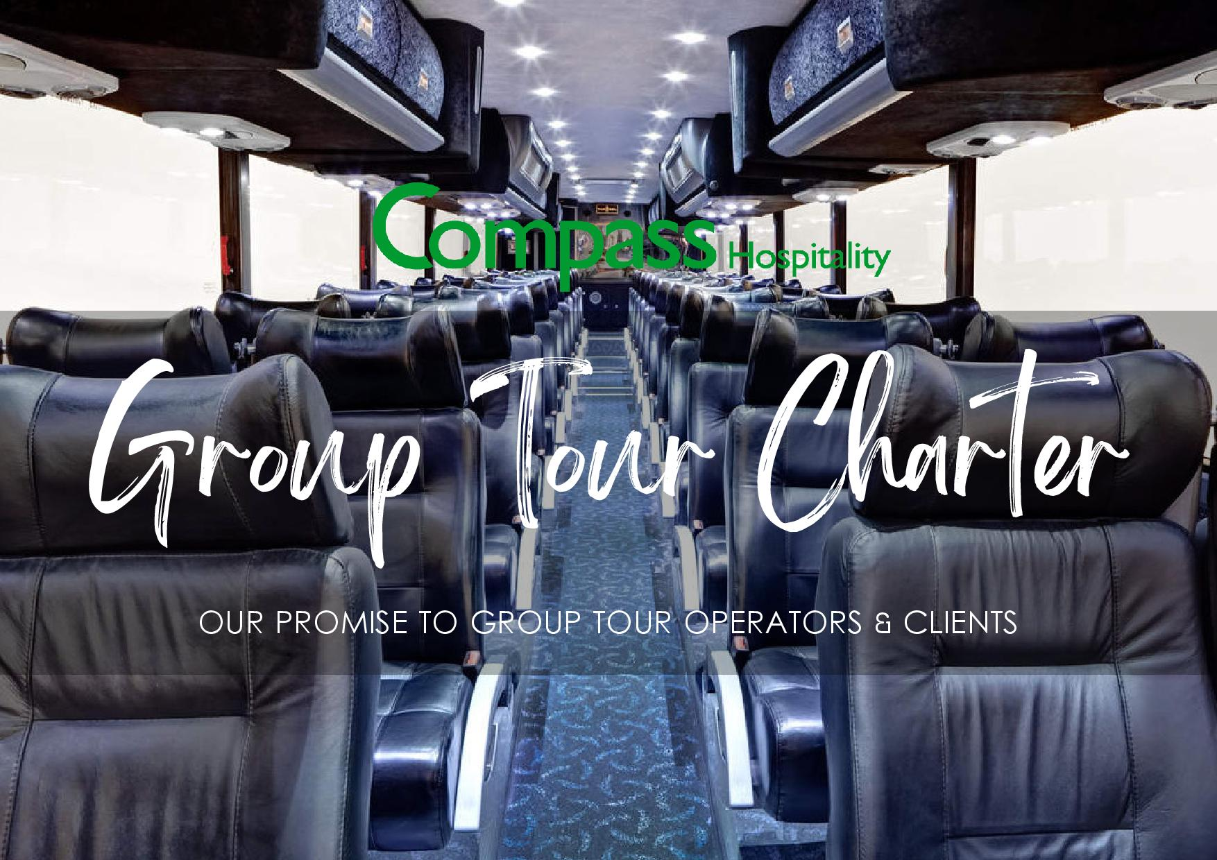 , GROUPS & TOURS, Compass Hospitality
